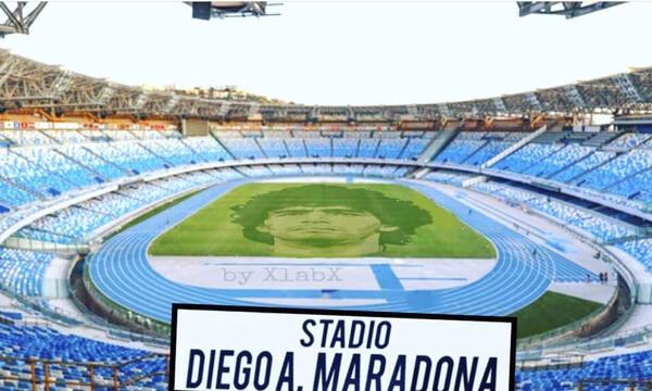 Νάπολι: «Τιμή να κάνουμε ντεμπούτο στο γήπεδο Μαραντόνα»! (Photos)