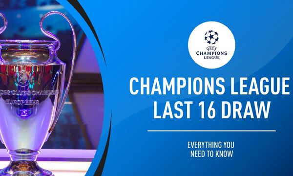 Οι ομάδες που προκρίθηκαν στους 16 του Champions League