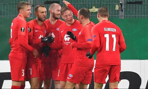 Europa League – 2ος όμιλος: Η Μόλντε ακολούθησε την… απόλυτη Άρσεναλ!