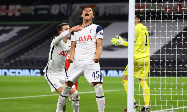 Europa League - 10ος Όμιλος: Η Τότεναμ λύγισε την Αντβέρπ και τερμάτισε πρώτη (video+photos)