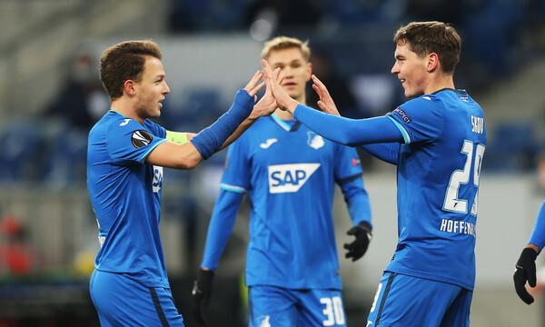 Europa League - 12ος όμιλος: Χαλαρά η Χόφενφαϊμ, χωρίς σκορ το ματς στην Τσεχία
