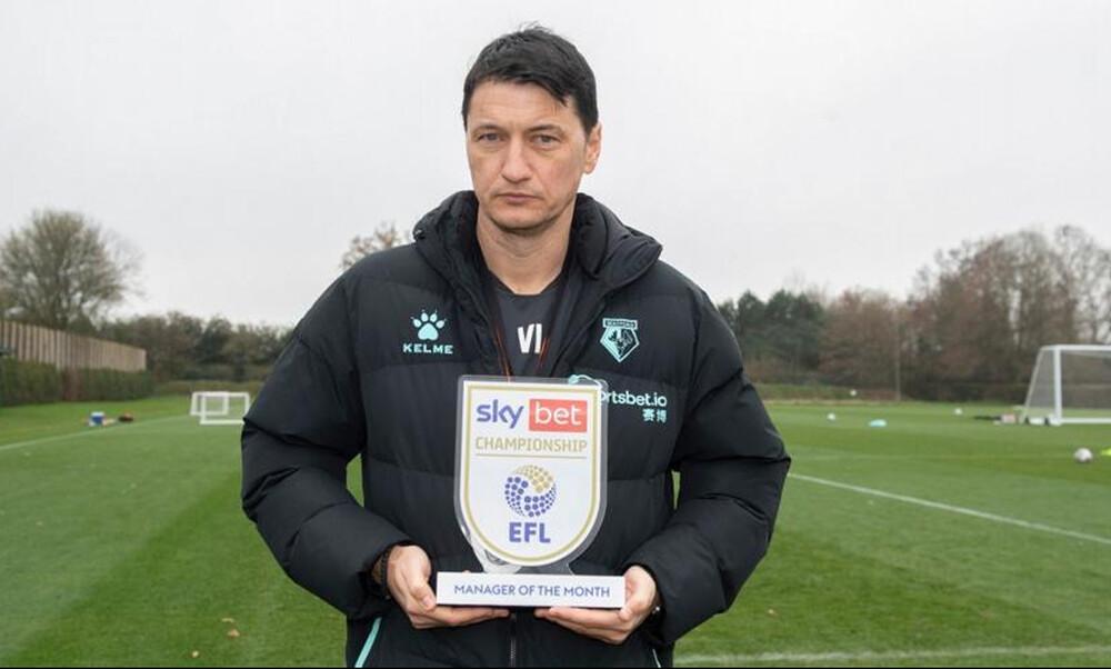 Βλάνταν Ίβιτς: Προπονητής του μήνα στην Championship