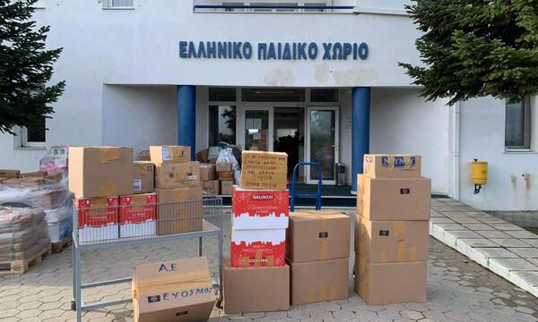 ΑΕ Ευόσμου: Η συλλογή τροφίμων για το Ελληνικό παιδικό χωριό στο Φίλυρο (photos)