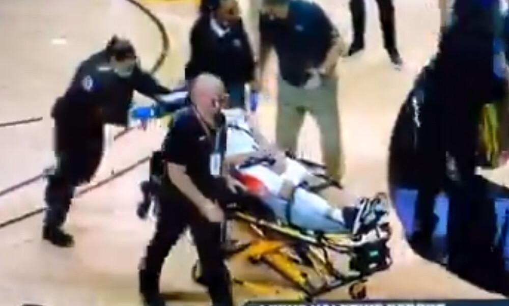 Η στιγμή της κατάρρευσης που «πάγωσε» το NCAA (video+photos)