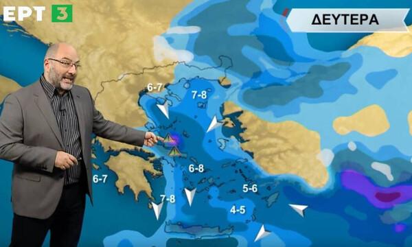 Καιρός: Προσοχή μέχρι το μεσημέρι! Προειδοποίηση Αρναούτογλου για πλημμύρες