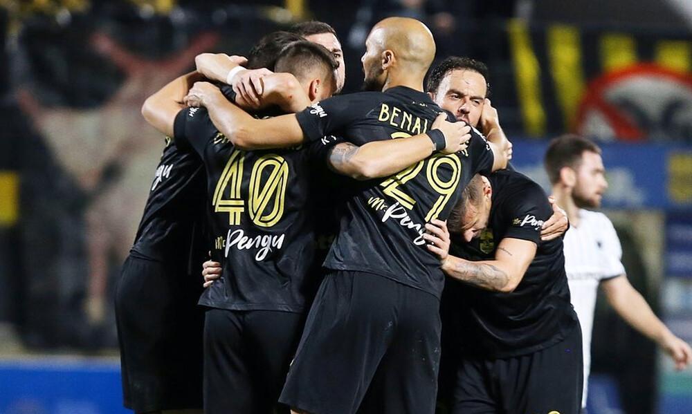 Μπεναλουάν: «Νιώθαμε την ψυχή των οπαδών, δίκαια νικήσαμε τον ΠΑΟΚ» (photos)