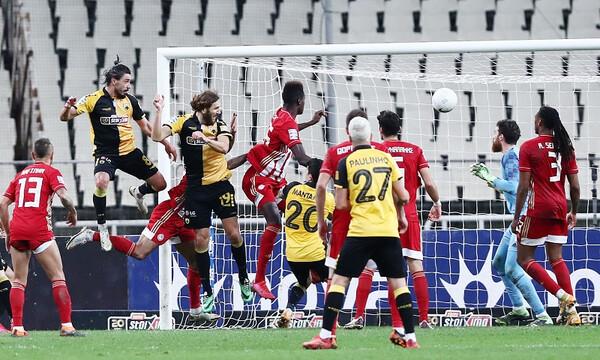 AEK – Ολυμπιακός 1-1: Δεν πήραν αυτό που ήθελαν, αλλά «Χ»αμογέλασαν