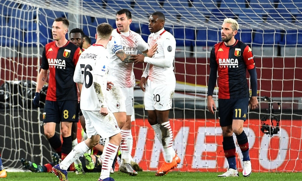 Serie A: Άφησε δύο βαθμούς στη Γένοβα η Μίλαν! (Video)