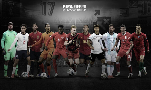 FIFA: Η κορυφαία ενδεκάδα της χρονιάς! (Photos)
