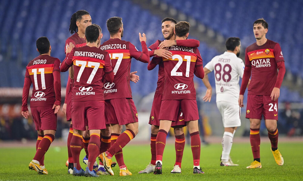 Serie A: Άνετα η ανεβασμένη Ρόμα, «βουλιάζει» η Τορίνο!