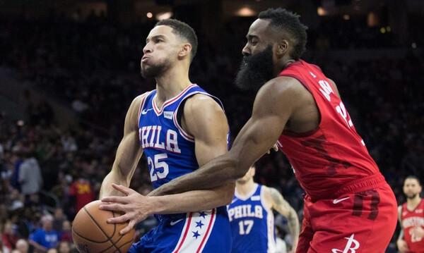 NBA: Στοπ σε ανταλλαγή του Χάρντεν με τον Σίμονς