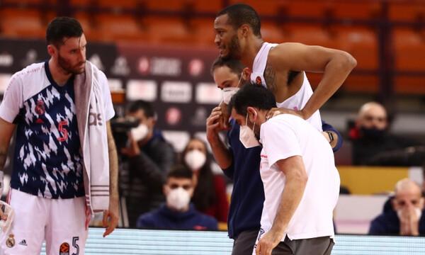 Ολυμπιακός-Ρεάλ Μαδρίτης: Ο σοκαριστικός τραυματισμός του Ράντολφ (photos+video)