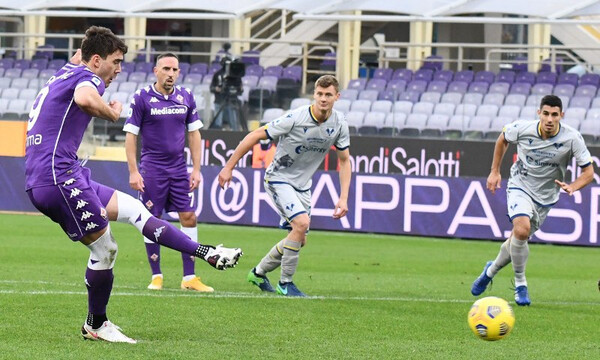 Serie A: Δύο πέναλτι και ισοπαλία στη Φλωρεντία!