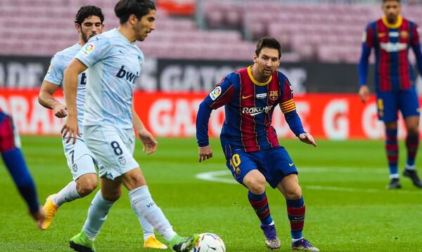La Liga: «Έπιασε» Πελέ ο Μέσι, δε νίκησε η Μπαρτσελόνα! (Videos)