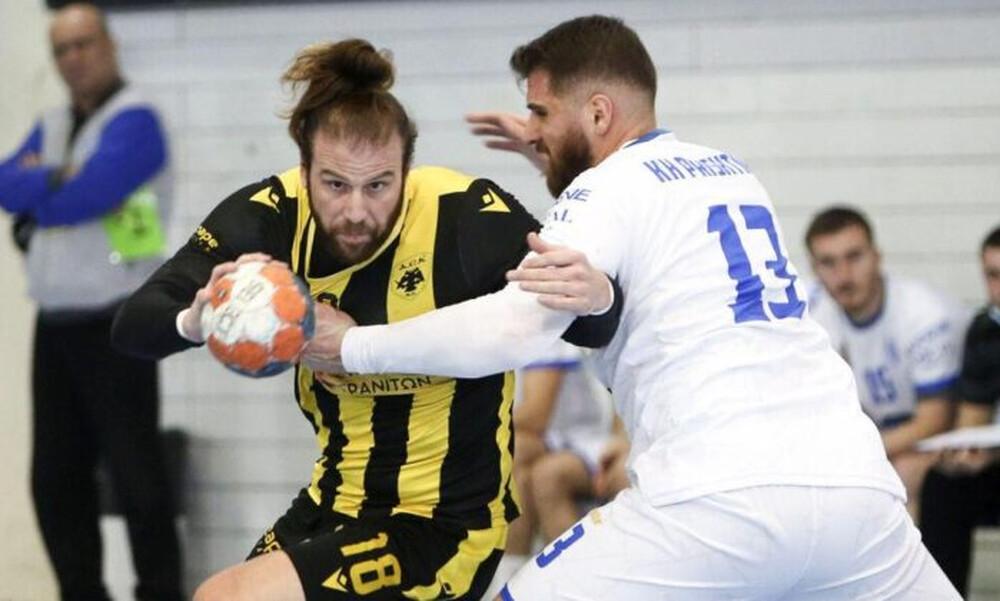 Χάντμπολ: Τελειώνει σήμερα την Πρίστινα η ΑΕΚ και ετοιμάζεται για τους «16» του EHF European CUP