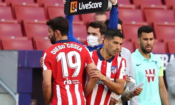 Μυθική ατάκα από Ντιέγκο Κόστα: «Τώρα που γύρισα, ο μπ@στ@ρ… ο Σουάρες βάζει δυο γκολ» (video)