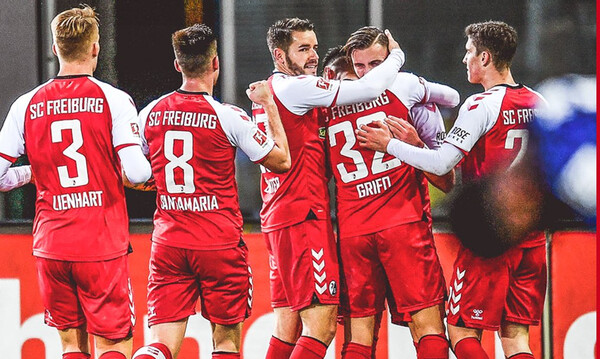 Bundesliga: Καταιγιστική η Φράιμπουργκ, σκόρπισε την Χέρτα! (video+photos)
