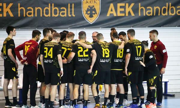 EHF European Cup: Πανηγυρικά στους «16» η ΑΕΚ - Διέλυσε 41-8 την Πρίστινα (photos)