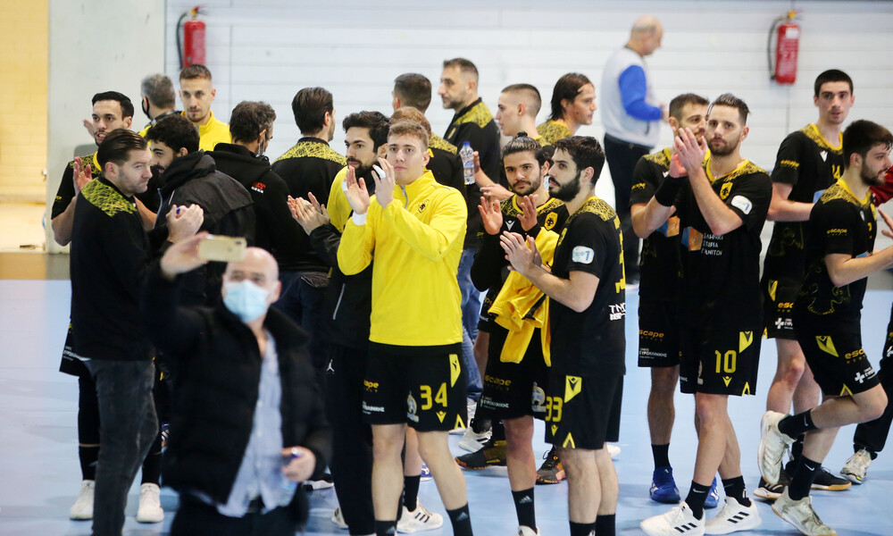 EHF European Cup: Έτσι σκόρπισε η ΑΕΚ την Πρίστινα (video)