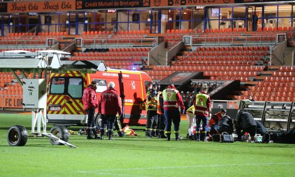 Γαλλία: Τραγικός θάνατος για 38χρονο από πτώση προβολέα στο Λοριάν-Ρεν (photos)