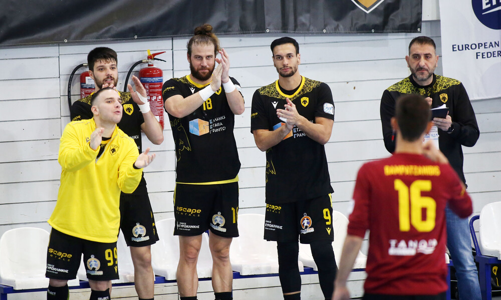 EHF European Cup: Μαθαίνει αντίπαλο στους «16» η ΑΕΚ