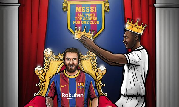 La Liga: Υπόκλιση στον βασιλιά Μέσι στην άνετη νίκη της Μπαρτσελόνα! (video+photos)