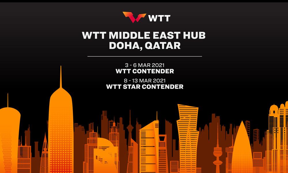 Πινγκ Πονγκ: Στη Ντόχα η εκκίνηση στα τουρνουά του 2021 με το WTT Middle East Hub