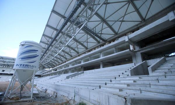 ΑΕΚ: Αυτή είναι η πτυσσόμενη εξέδρα στην «Αγια-Σοφιά ΟΠΑΠ Arena» (video)