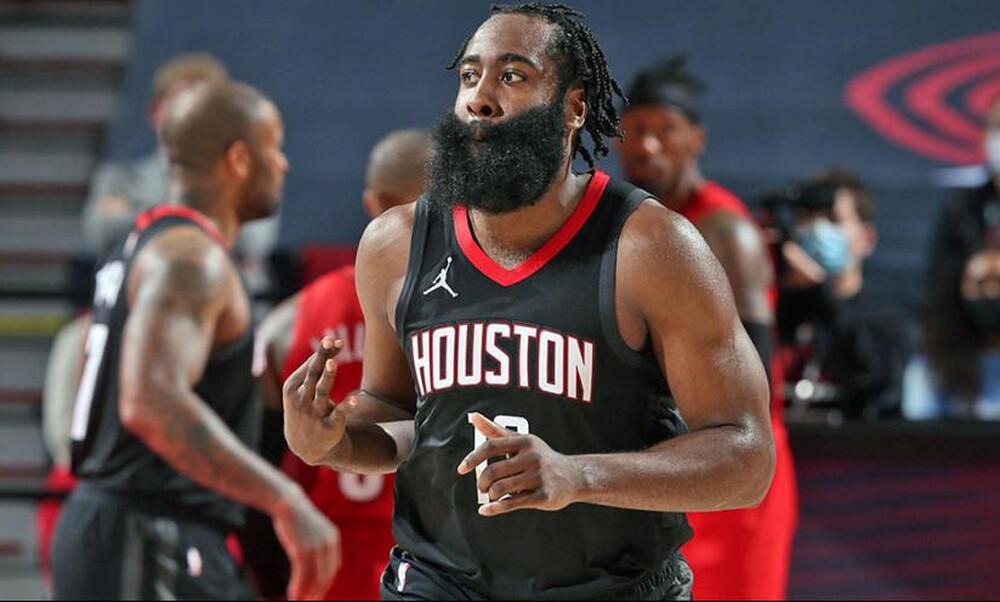 NBA: Το σόου του Χάρντεν (video+photos)