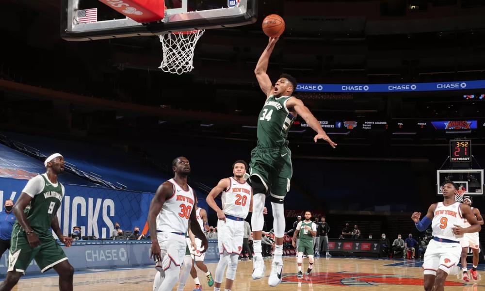 NBA: Τα highlights του Γιάννη Αντετοκούνμπο (photos+video)