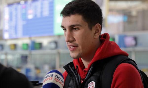 Λαρεντζάκης: «Πάμε για να παλέψουμε και να νικήσουμε»