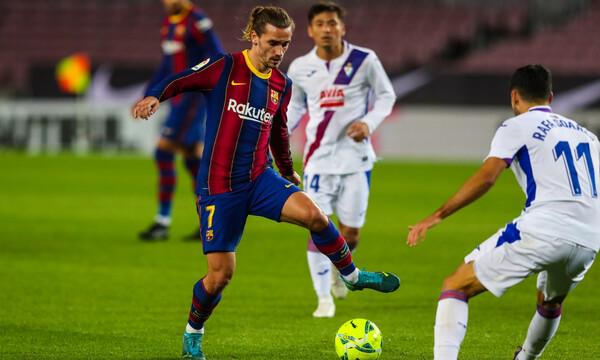 La Liga: Έλειπε ο Μέσι, στραβοπάτησε η Μπαρτσελόνα (videos)
