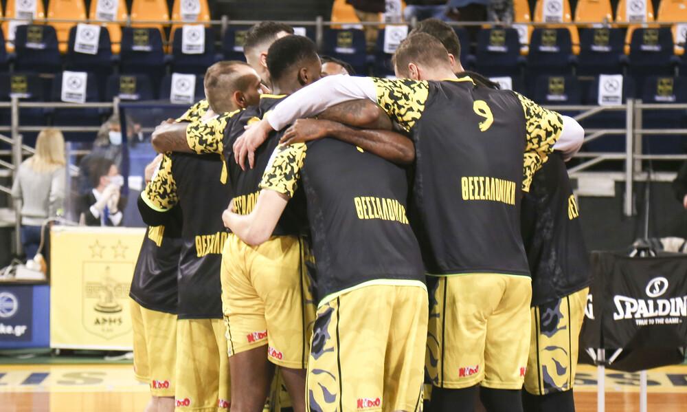 Άρης: Επιστολή για τη διαιτησία με τον Κολοσσό σε FIBA, BCL και Euroleague