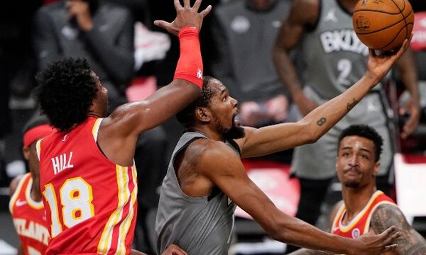 NBA: Με Ντουράντ δεν χάνουν οι Νετς - Τα αποτελέσματα της βραδιάς (video)