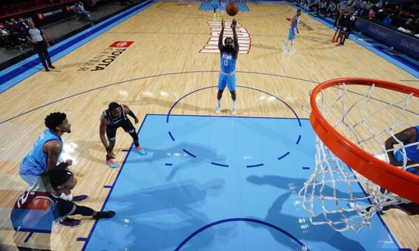 NBA: «Καθάρισε» ο Χάρντεν (videos)