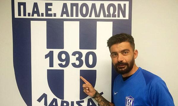 Απόλλων Λάρισας: Τυχερός και με φλουρί ο Κλάους Αθανασιάδης