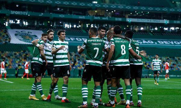 Primeira Liga: Η Σπόρτινγκ Λισσαβόνας λύγισε τη Μπράγκα και παραμένει πρώτη (video+photos)