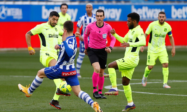 La Liga: Γλίτωσε το… σοκ στο τέλος η Ατλέτικο! (Video & Photos)