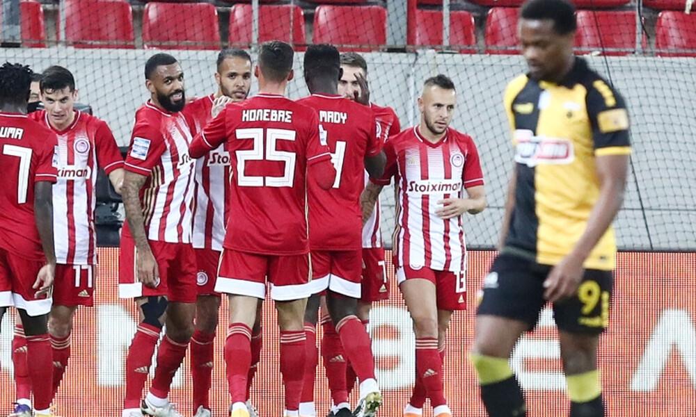 Ολυμπιακός-ΑΕΚ 3-0: Ποδαρικό με… τριάρα (photos+videos)