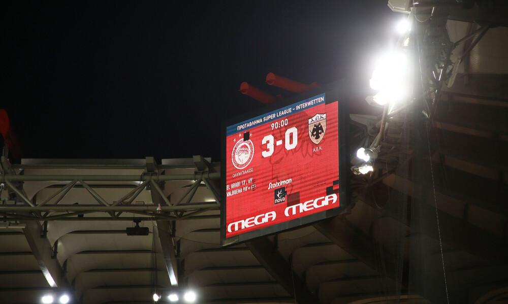 Ολυμπιακός-ΑΕΚ 3-0: Τα highlights της «ερυθρόλευκης» επικράτησης (video+photos)
