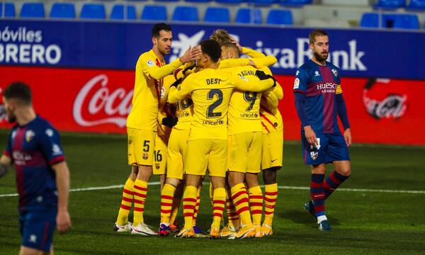 La Liga: Με το… δεξί στο 2021 με γκολ του «21» η Μπαρτσελόνα! (Videos & Photos)