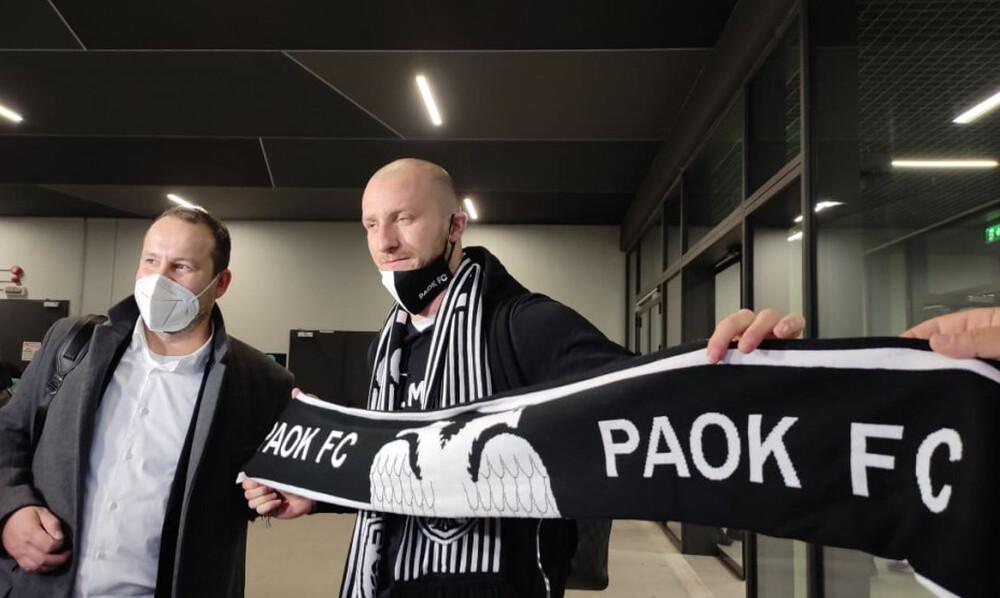 ΠΑΟΚ: Έφτασε στη Θεσσαλονίκη ο Κρμέντσικ (video)