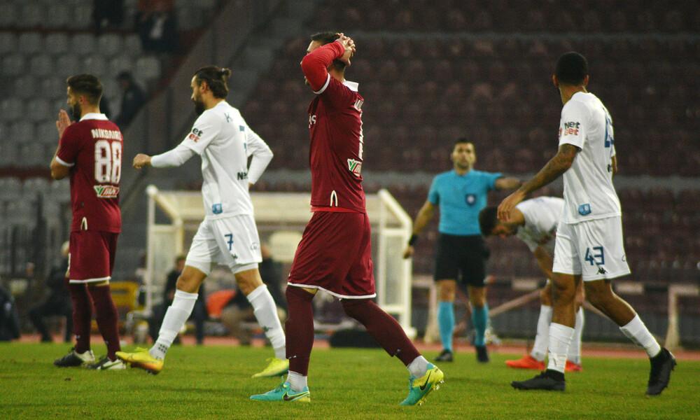 ΑΕΛ - ΠΑΣ Γιάννινα 0-0: «Χ»αμένο το ποδόσφαιρο (video)