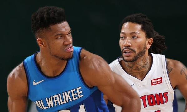 NBA: Άνετο βράδυ για Μπακς - Καλή εμφάνιση από Γιάννη-Θανάση (video)