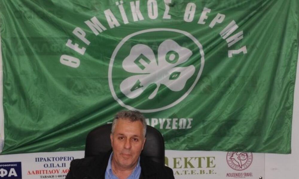 Αμπατζίδης: «Ας βοηθήσουν πολλοί από λίγο για να αρχίσει η Γ' Εθνική»