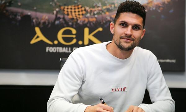 AEK: Ανανέωσε ο Αλμπάνης - «Κιτρινόμαυρος» ως το 2024!