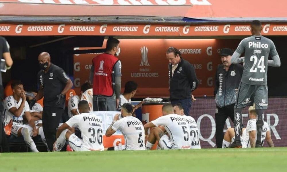 Κόπα Λιμπερταδόρες: Θετικοί στον κορονοϊό μετά το ματς με την Μπόκα δύο παίκτες της Σάντος!