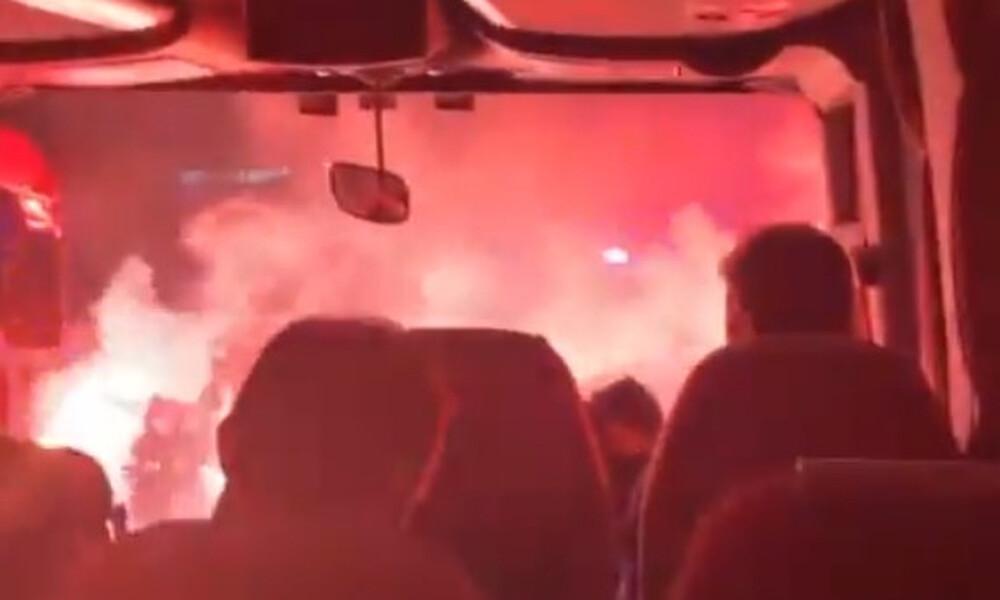 Ολυμπιακός: Αποθέωση πριν το Αγρίνιο - «Τρελάθηκε» ο Βαλμπουένα (video)