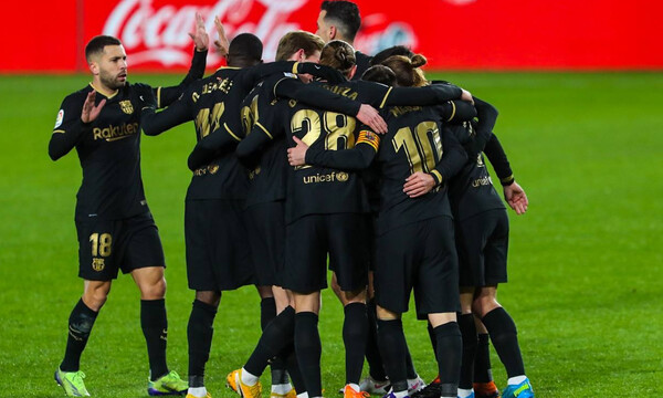 La Liga: Εύκολα η Μπαρτσελόνα στην έδρα της Γρανάδα!  (Video+Photos)