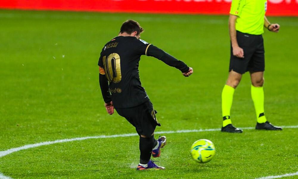 Ο Μέσι προσπέρασε στα γκολ με φάουλ τον Ρονάλντο και ο γιος του τρελάθηκε! (videos)